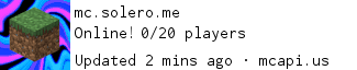 Solero Minecraft Server
